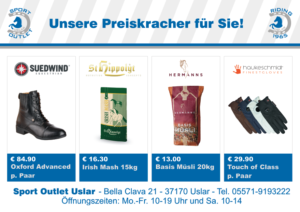 Flyer neu Outlet vorn - carboo-shop-de